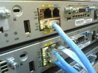 Pracujący serwer