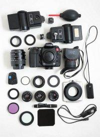 Profesjonalny sprzęt fotograficzny