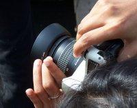Obiektyw aparatu foto